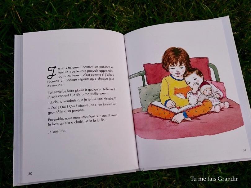Jules sait lire soeur