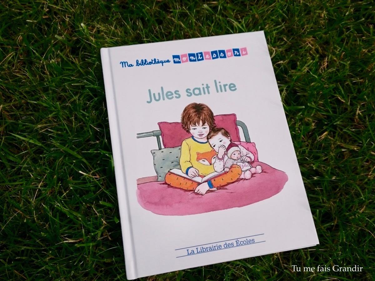 Jules sait lire d'Alicia Fleury, Yseult Abelians et Alice Gravier {livre #31}