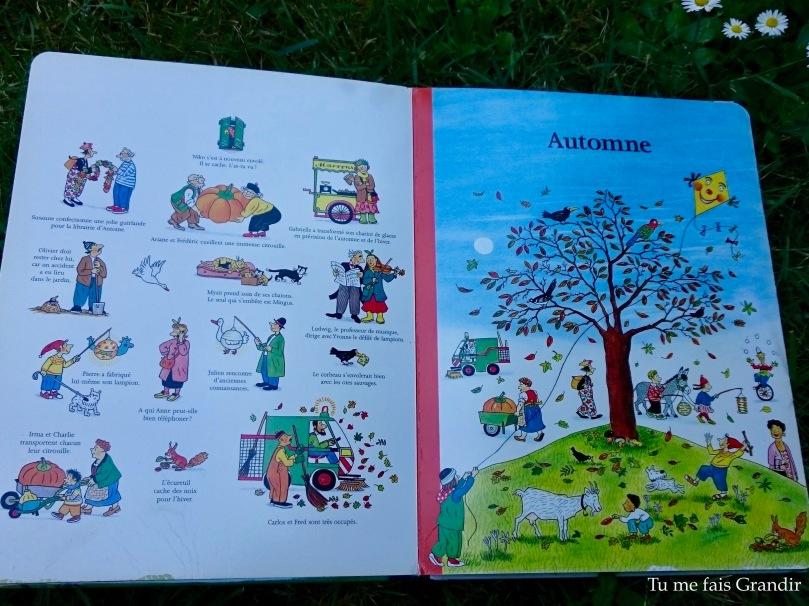 Le livre des 4 saisons automne