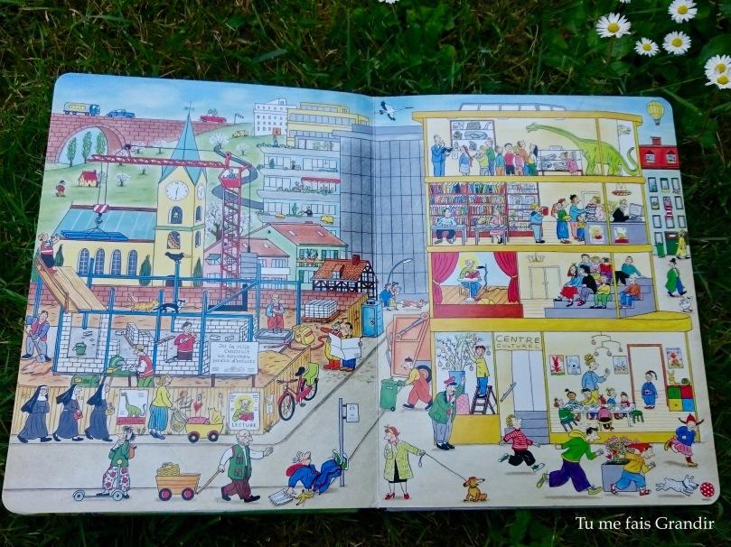 Le livre des 4 saisons Printemps centre ville