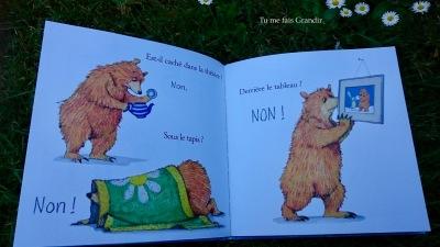 lievre et ours ou est ours? ours cherche