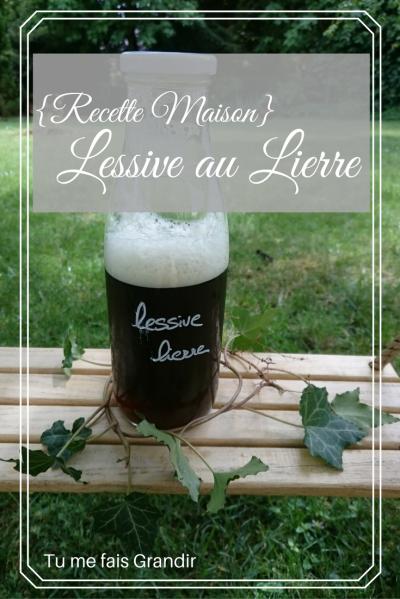 Lessive Maison au Lierre