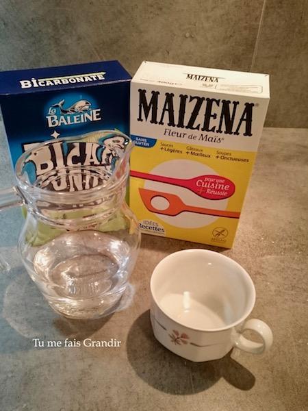 recette pate autodurcissante ingredient