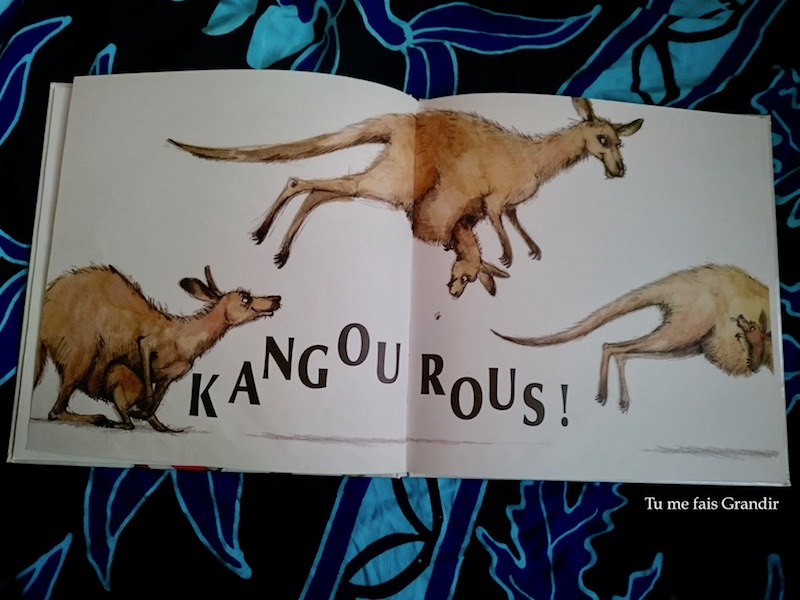 Mon singe et moi Kangourou