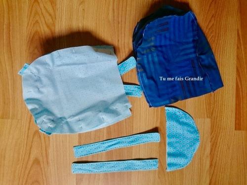 sac a dos couture