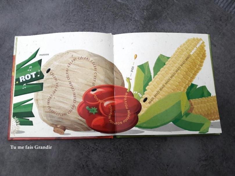 Grosse legume celeri
